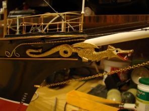 Авторская модель яхты Тамара 7