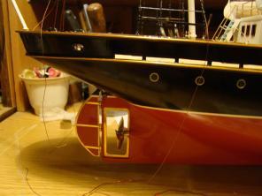 Авторская модель яхты Тамара 8