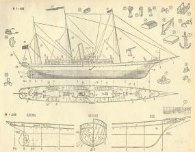 яхта Колхида. чертеж 2